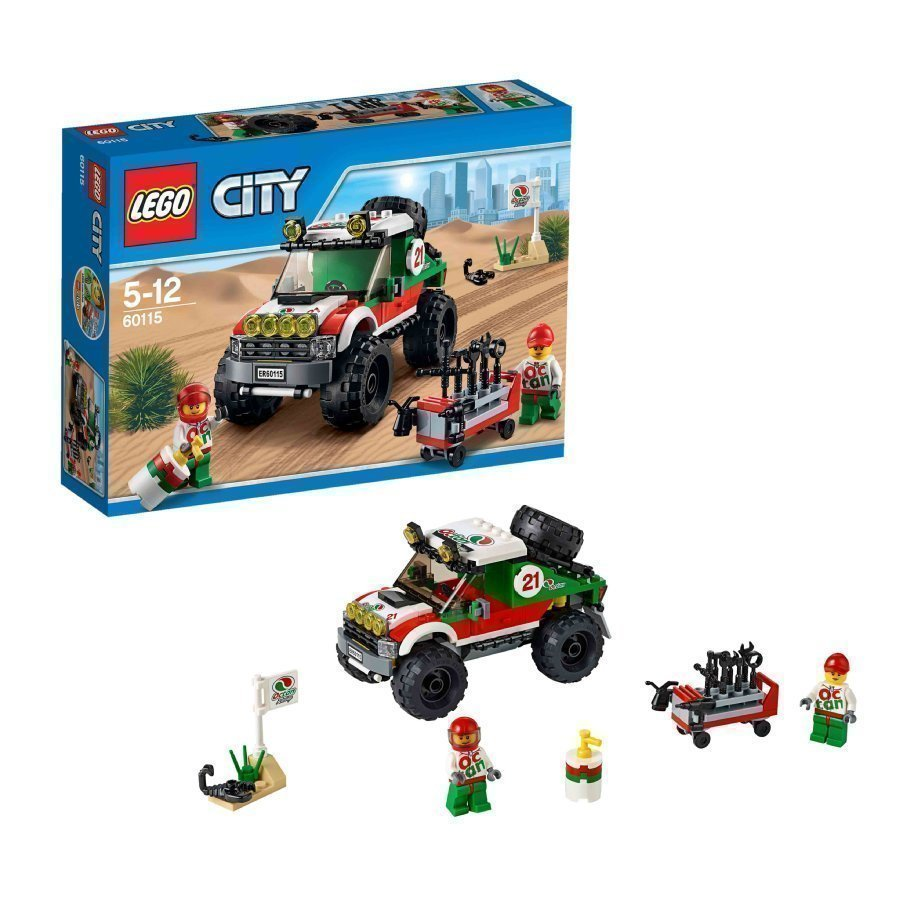 Lego City Nelivetomaasturi 60115