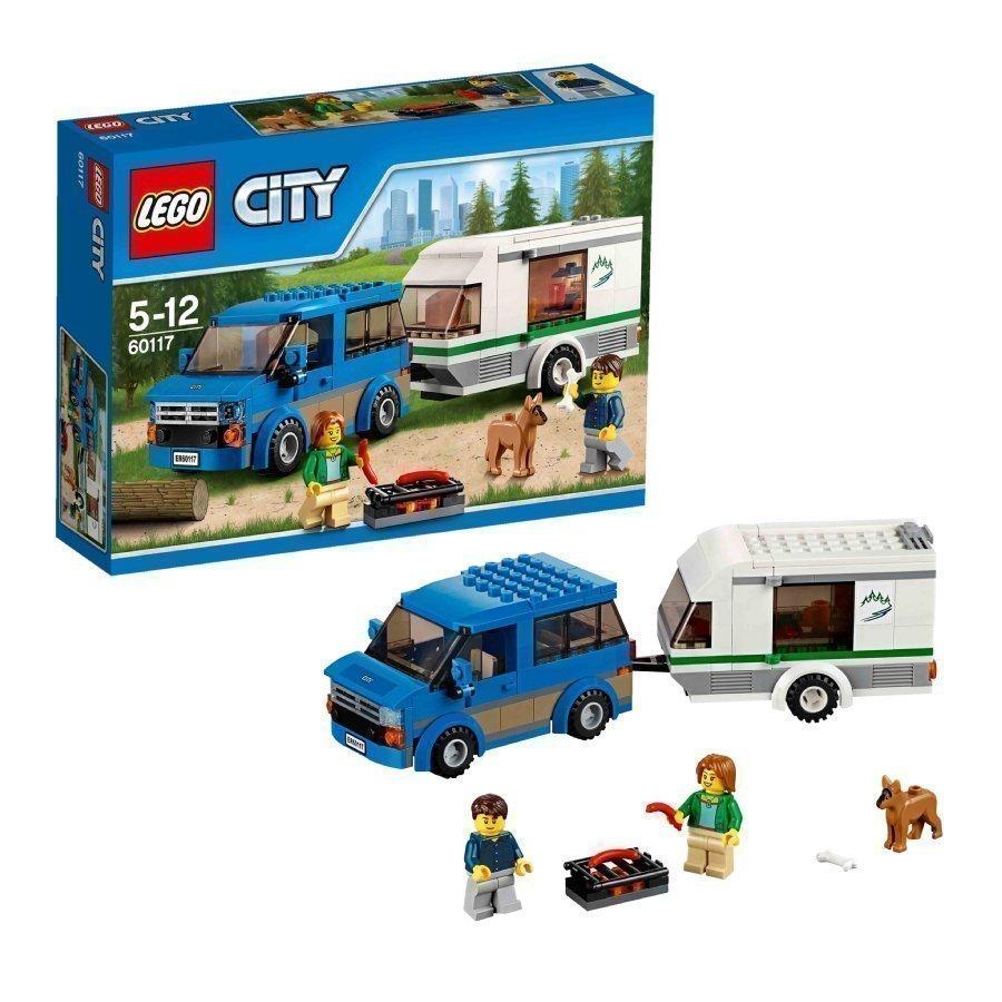 Lego City Pakettiauto Ja Asuntovaunu 60117