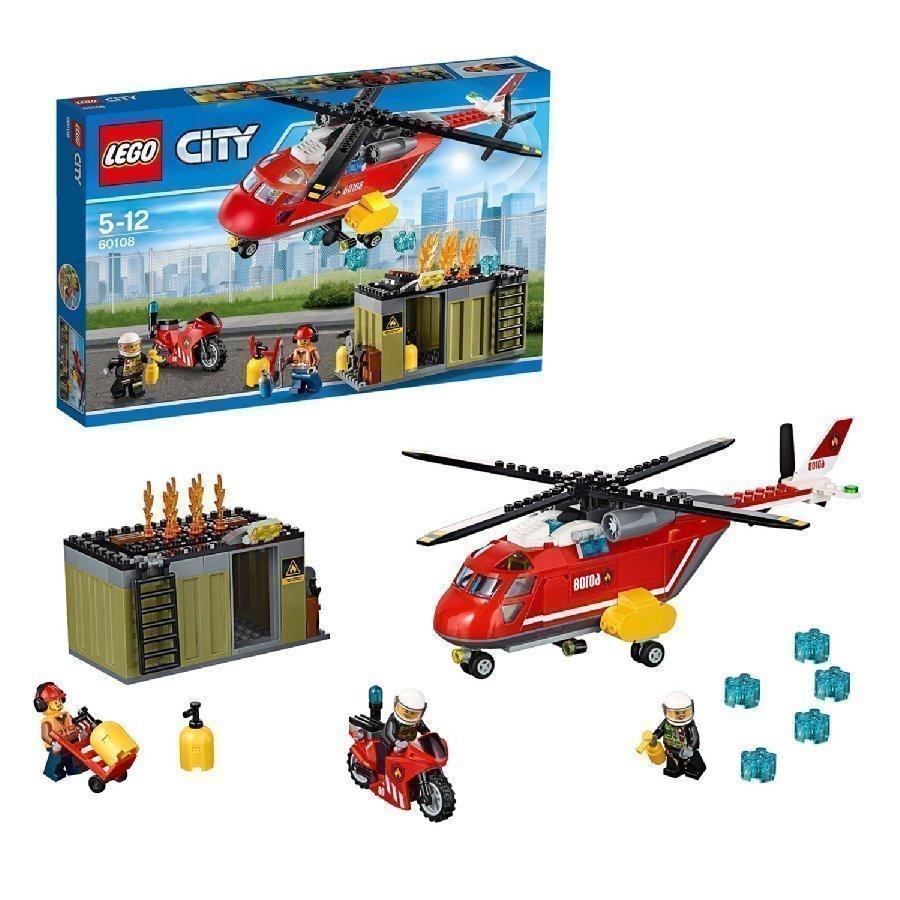 Lego City Palokunnan Ensivasteyksikkö 60108