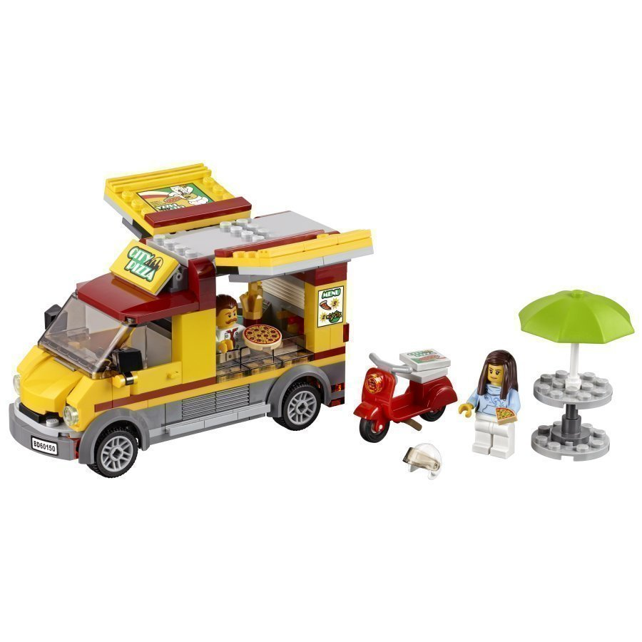 Lego City Pizza Auto 60150