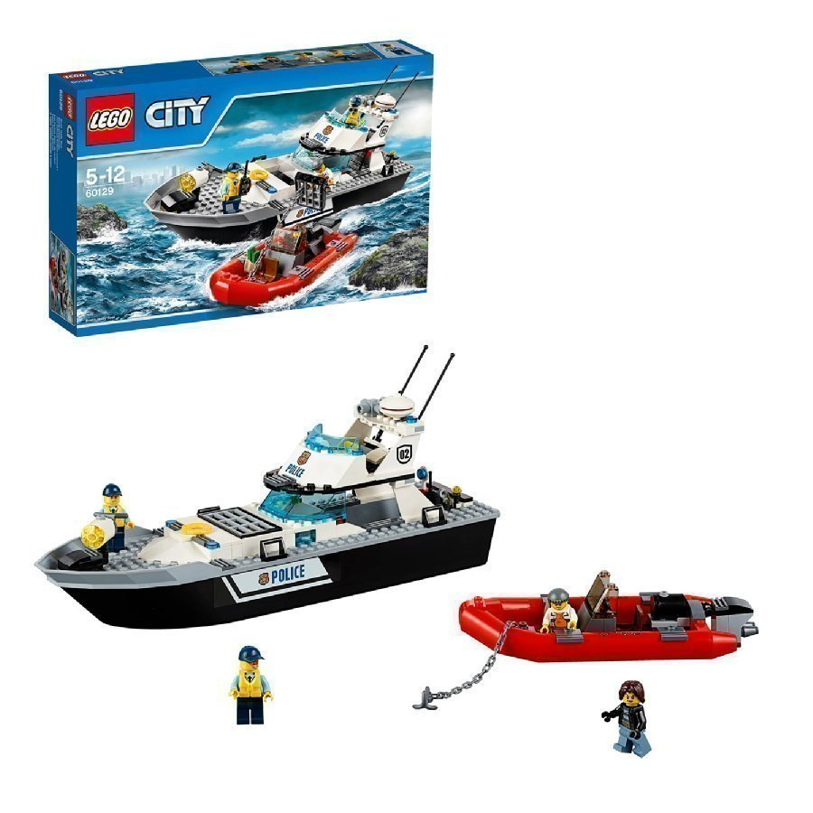 Lego City Poliisin Partiovene 60129