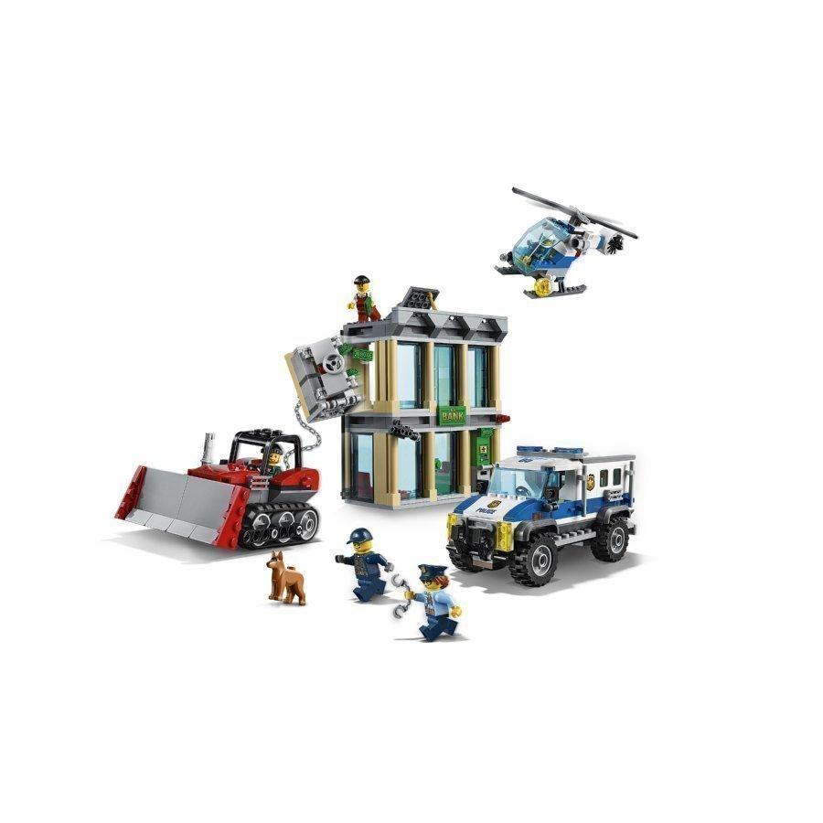 Lego City Puskutraktorin Sisäänajo 60140