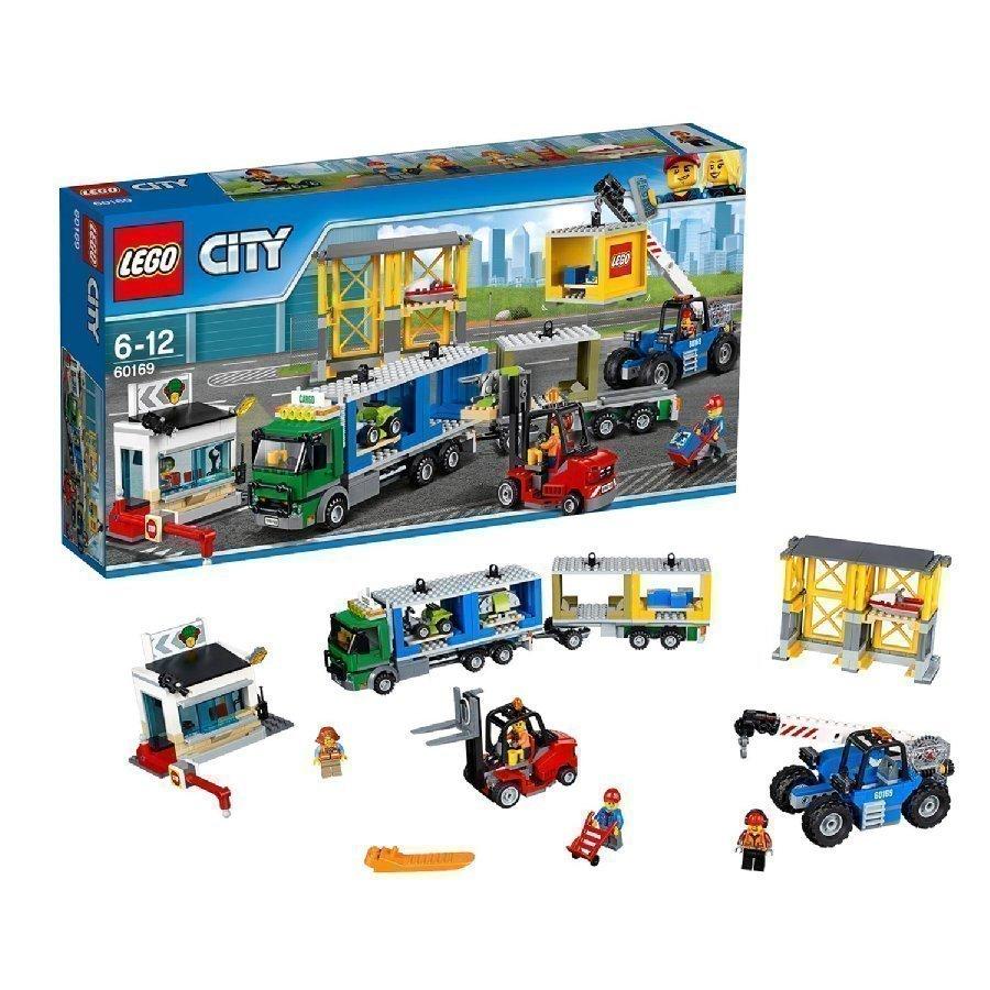 Lego City Rahtiterminaali 60169