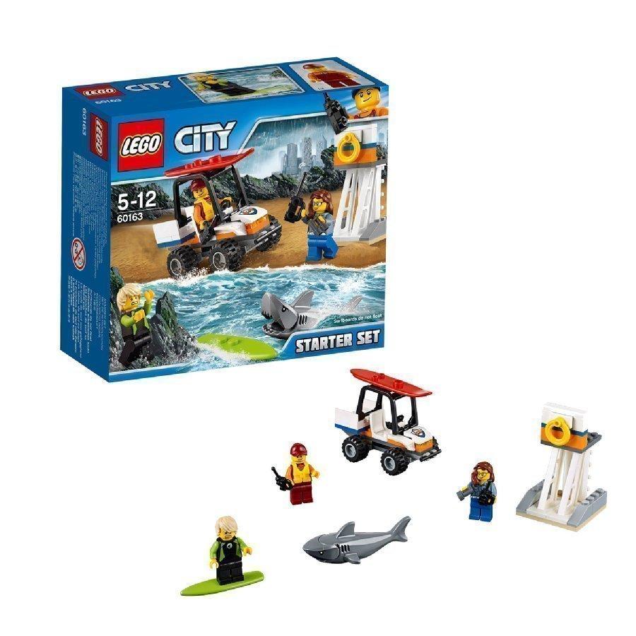 Lego City Rannikkovartioston Aloitussarja 60163