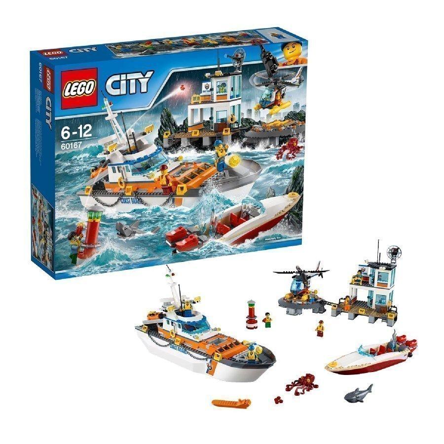 Lego City Rannikkovartioston Päämaja 60167