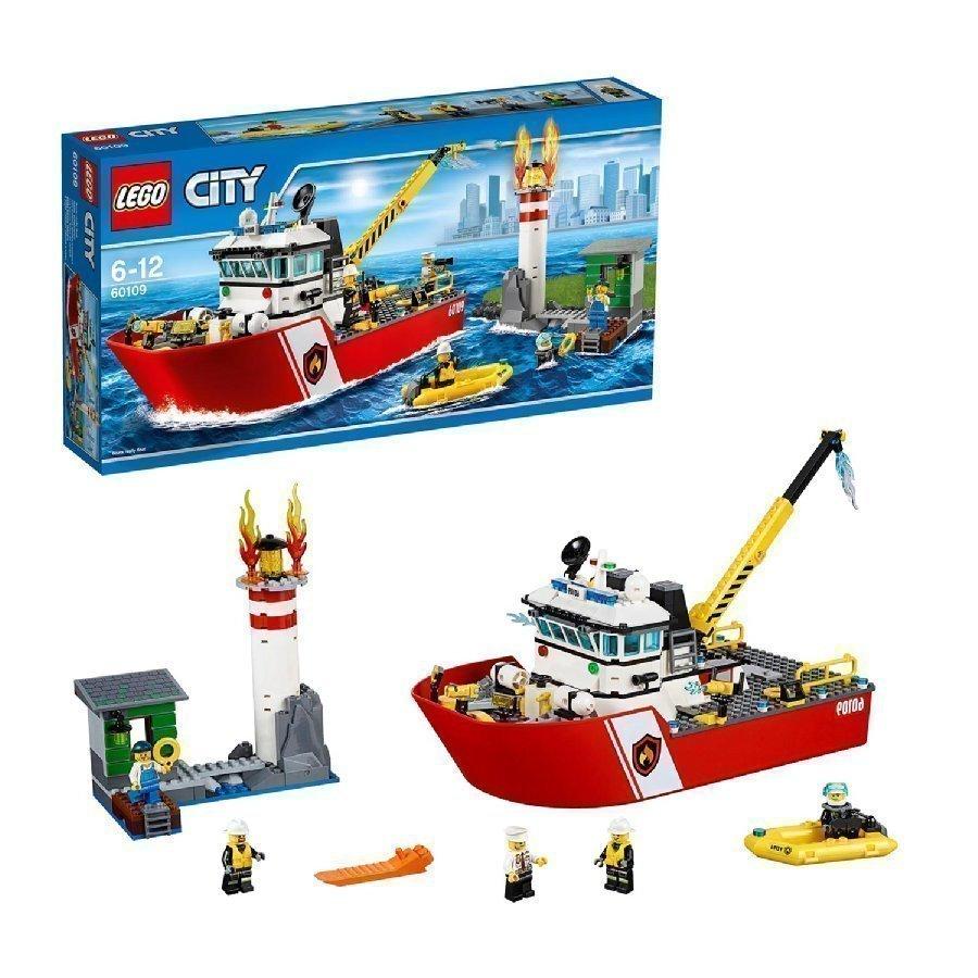 Lego City Sammutusvene 60109