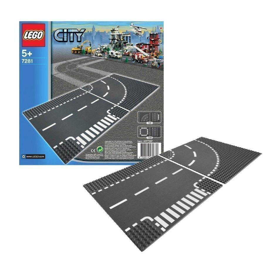 Lego City T Risteys Ja Kaarre 7281