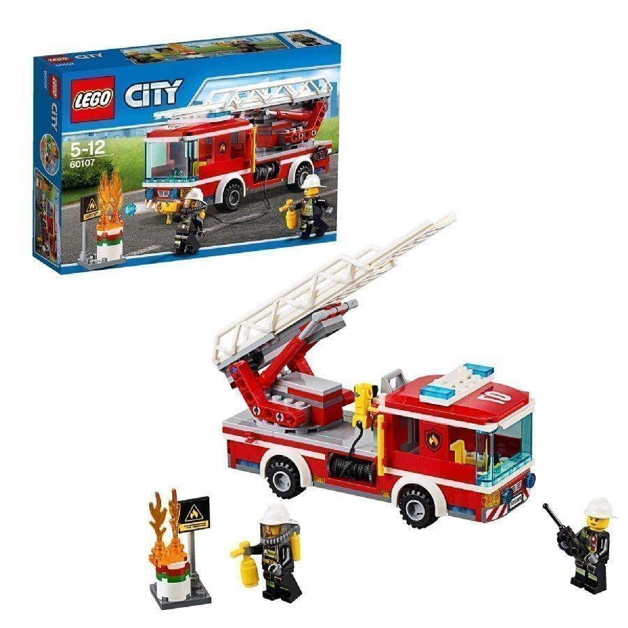 Lego City Tikaspaloauto 60107