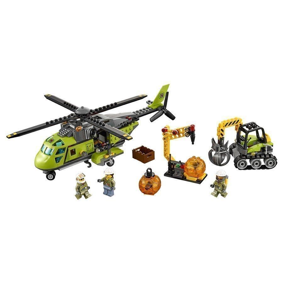 Lego City Tulivuoren Jakeluhelikopteri 60123
