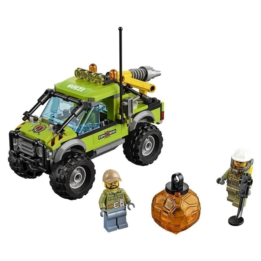 Lego City Tulivuoren Tutkimusauto 60121