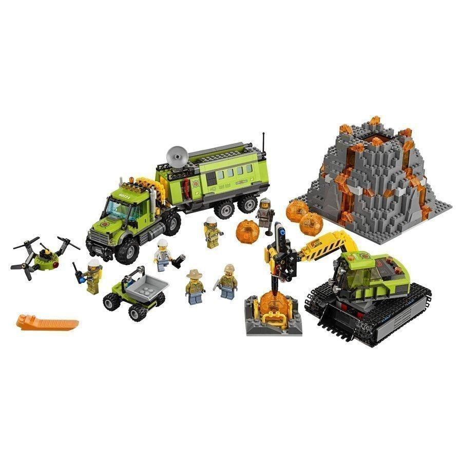Lego City Tulivuoren Tutkimustukikohta 60124