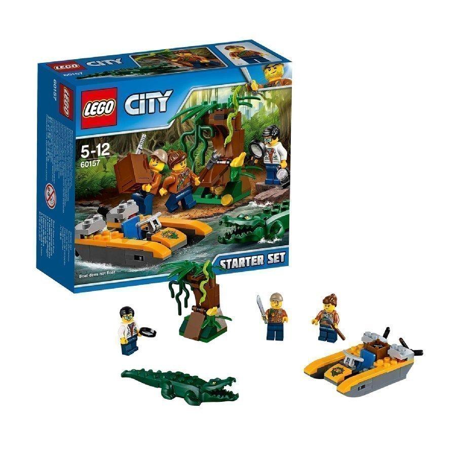 Lego City Viidakko Viidakon Aloitussarja 60157