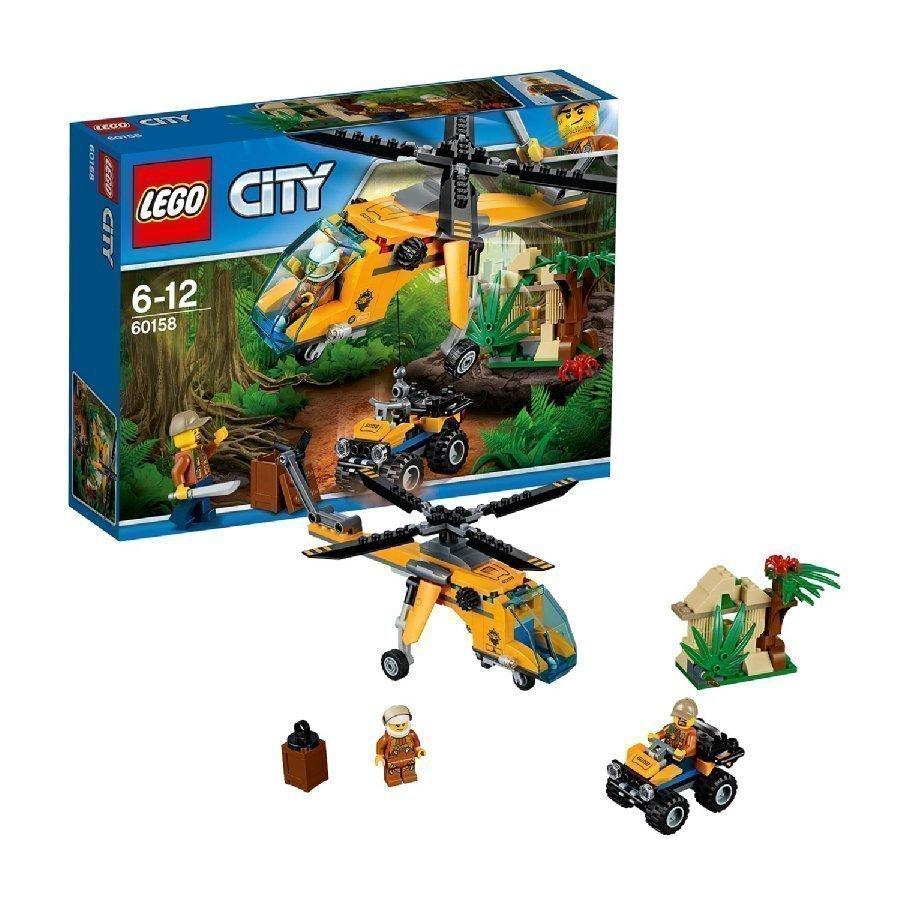 Lego City Viidakko Viidakon Rahtihelikopteri 60158