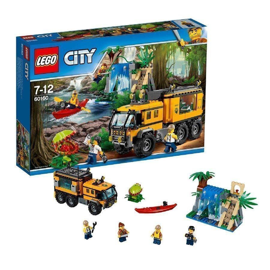 Lego City Viidakko Viidakon Siirrettävä Laboratorio 60160
