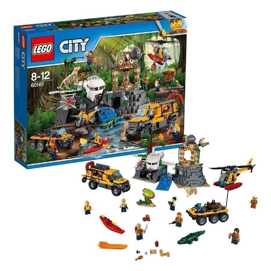 Lego City Viidakko Viidakon Tutkimuspaikka 60161