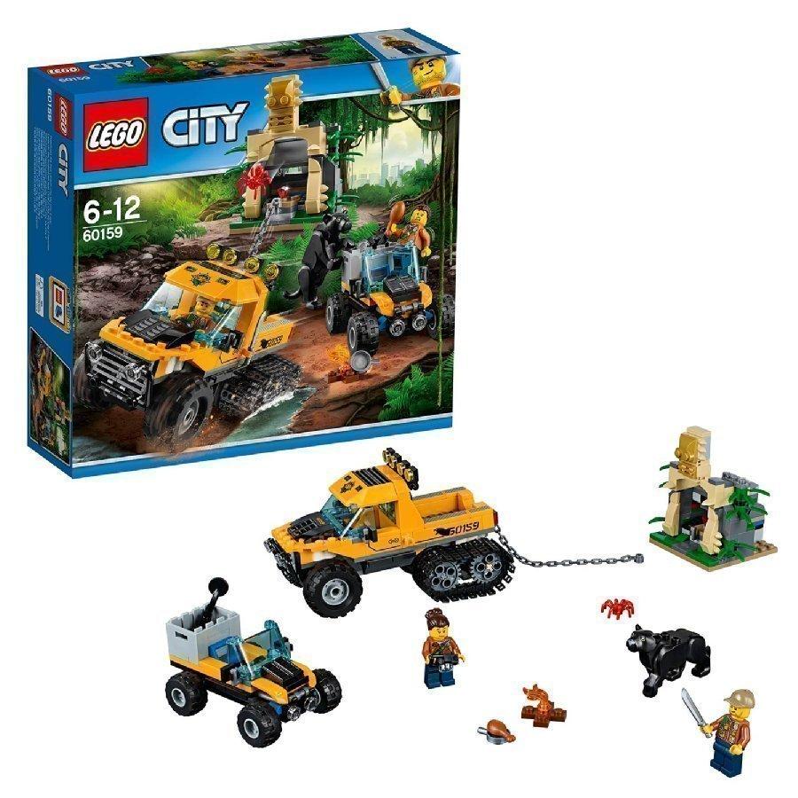 Lego City Viidakon Puolitelaketjuauton Tehtävä
