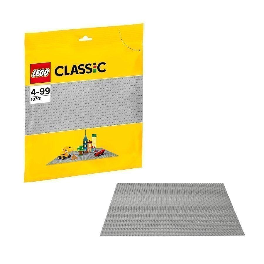 Lego Classic Harmaa Rakennuslevy 10701