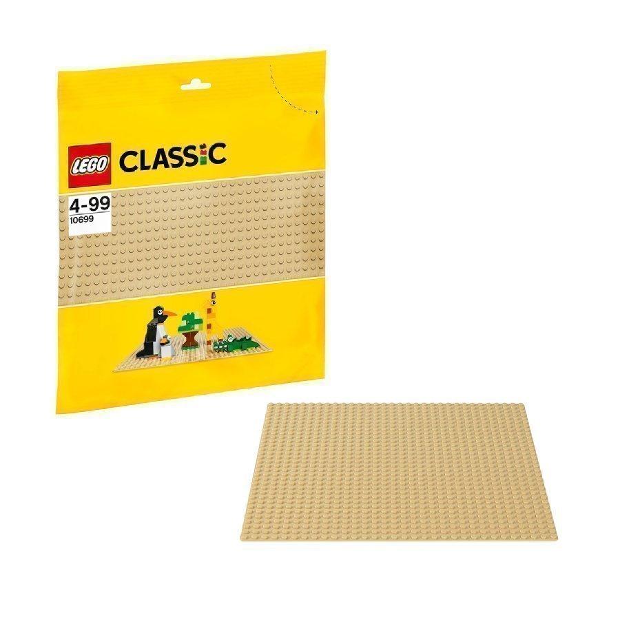Lego Classic Hiekanvärinen Rakennuslevy 10699