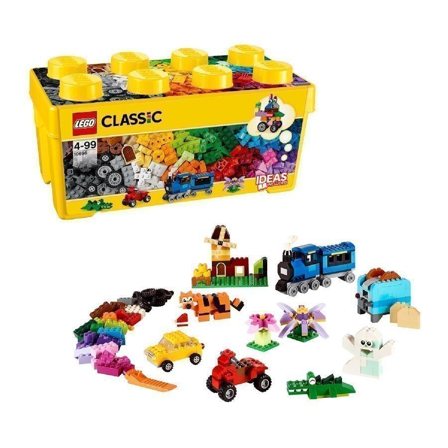 Lego Classic Keskikokoinen Luova Rakennuslaatikko 10696