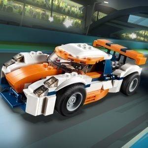 Lego Creator 31089 Auringonlaskunvärinen Rata Auto