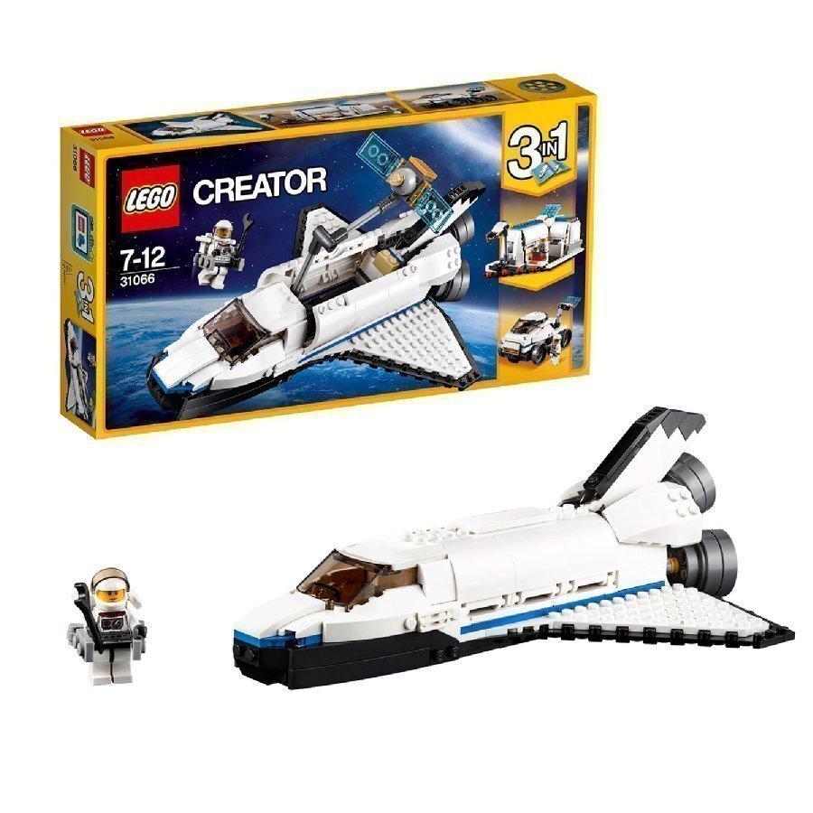 Lego Creator Avaruussukkula Ja Tutkimusmatkailija 31066