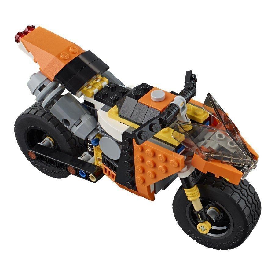 Lego Creator Katumoottoripyörä