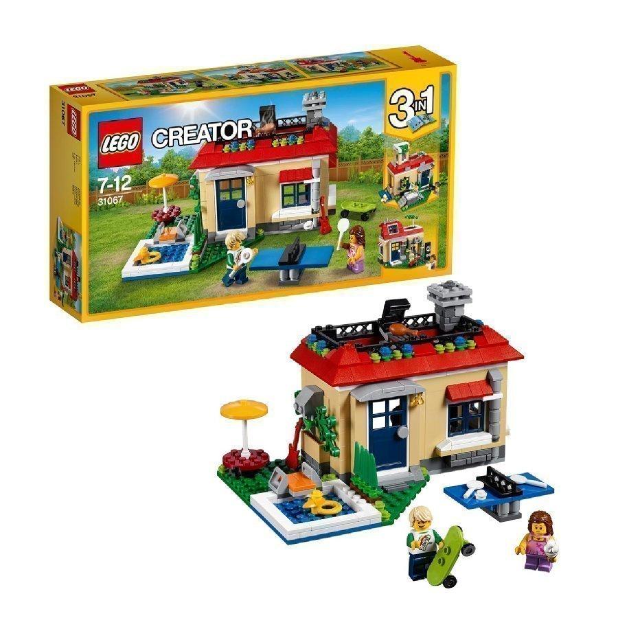 Lego Creator Lomalla Uima Altaalla 31067