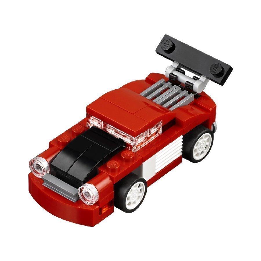 Lego Creator Punainen Kilpa Auto 31055