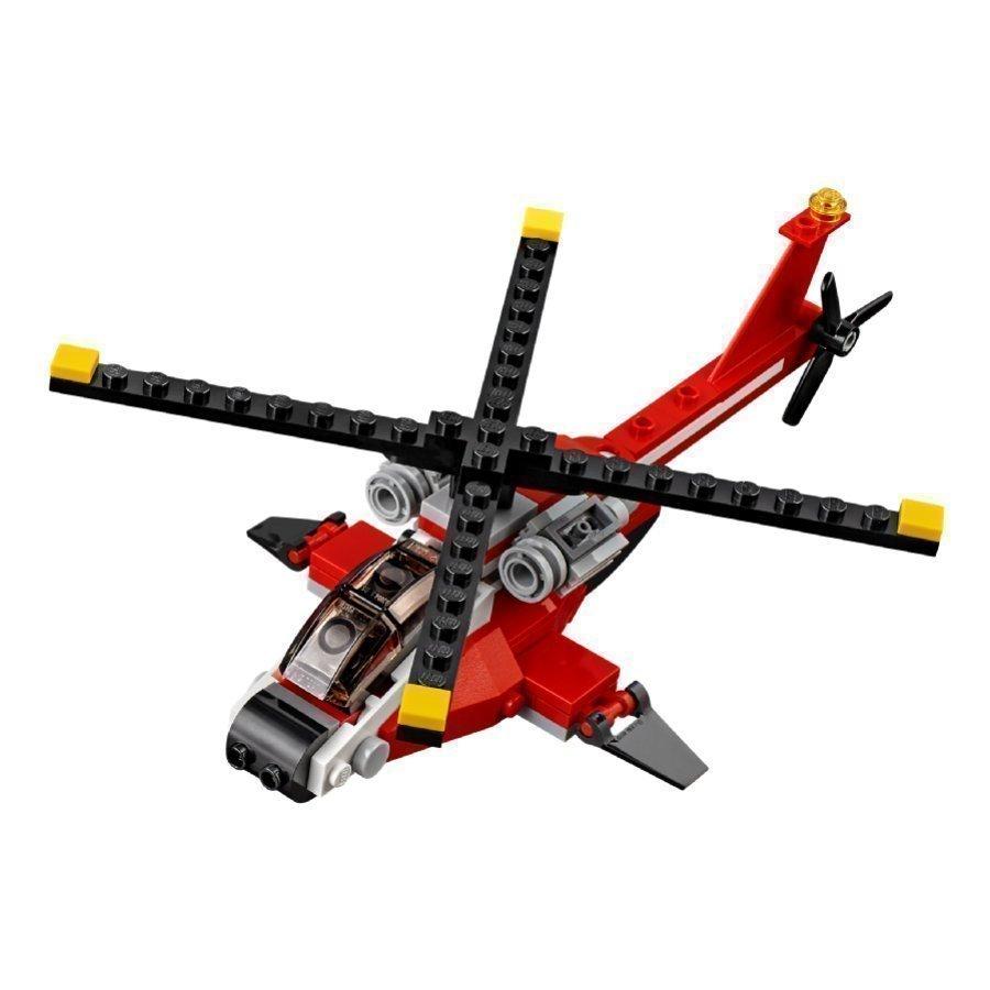 Lego Creator Tulipunainen Helikopteri