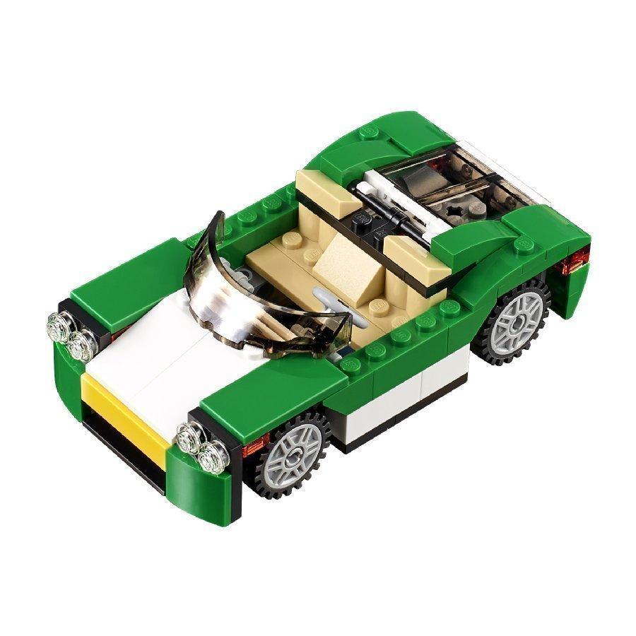 Lego Creator Vihreä Avoauto 31056