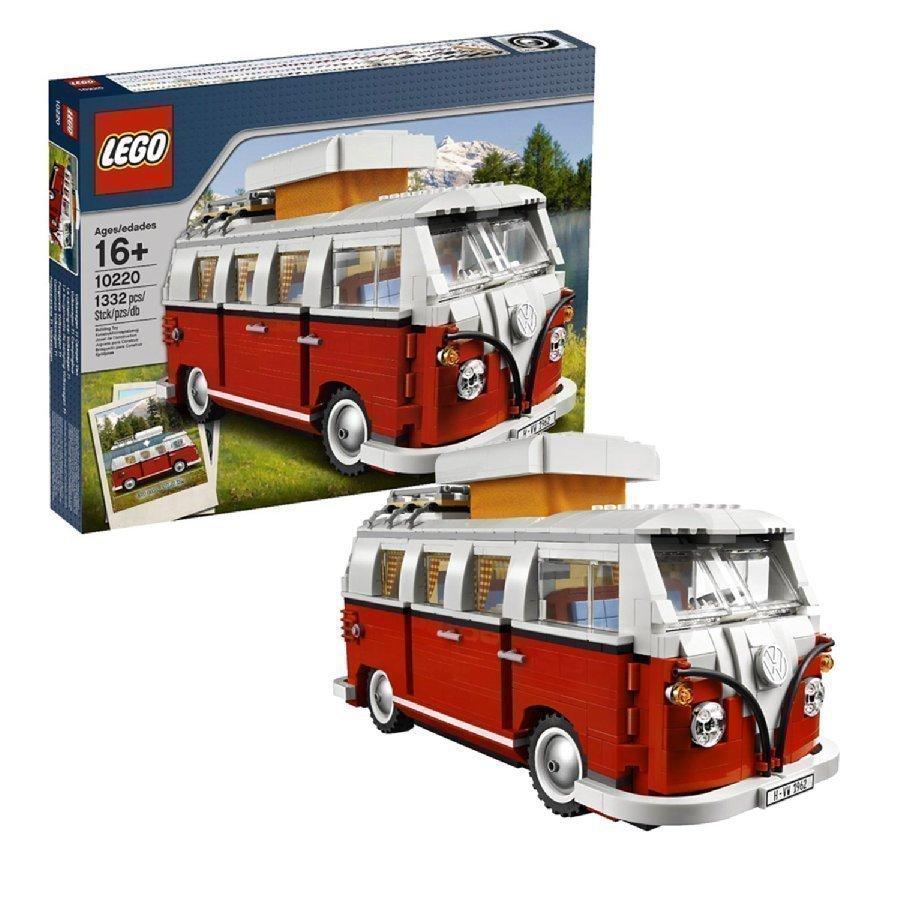 Lego Creator Volkswagen T1 Matkailuauto 10220
