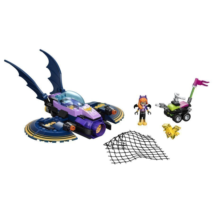 Lego Dc Super Girls Batgirl Ja Takaa Ajo Lepakkosuihkarilla 41230