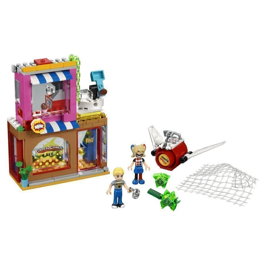 Lego Dc Super Girls Harley Quinn Tulee Apuun 41231