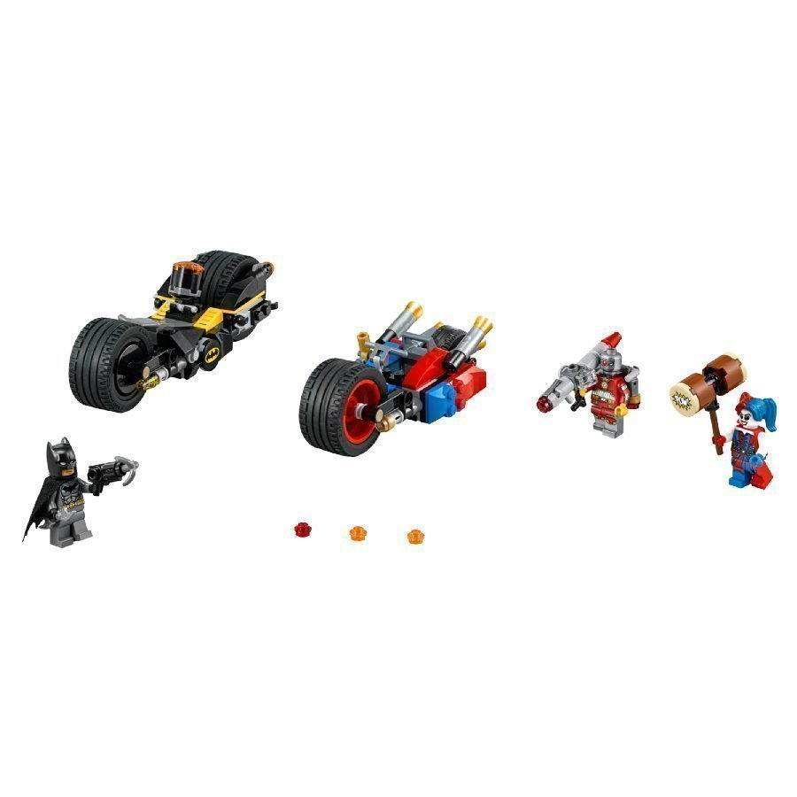 Lego Dc Universe Super Heroes Batman Batman Gotham Cityn Pyöräjahti 76053