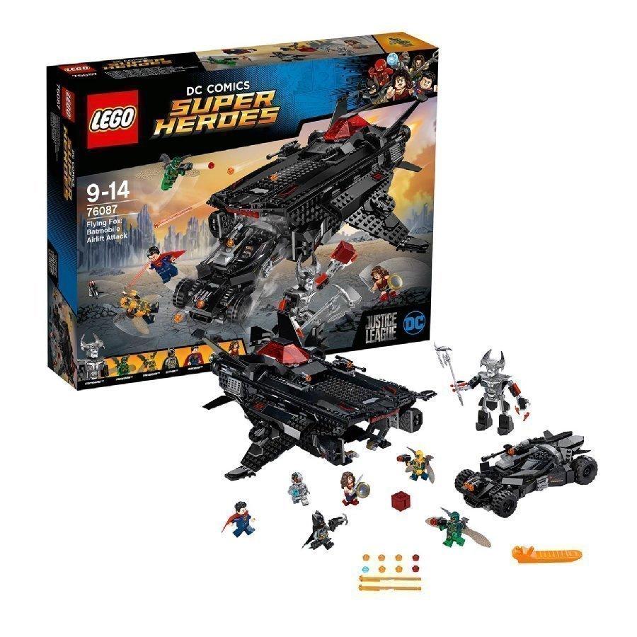 Lego Dc Universe Super Heroes Lentävä Kettu Batmobiilin Ilmakuljetushyökkäys 76087