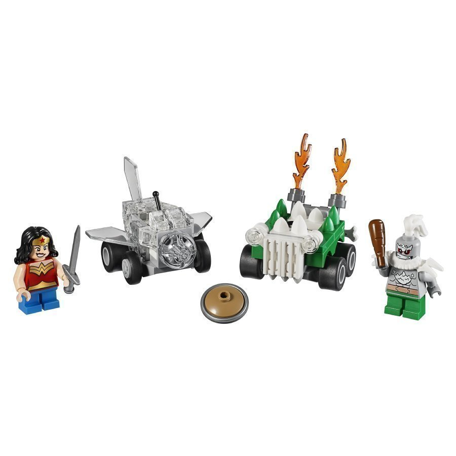 Lego Dc Universe Super Heroes Mighty Micros Wonder Woman Vs. Doomsday