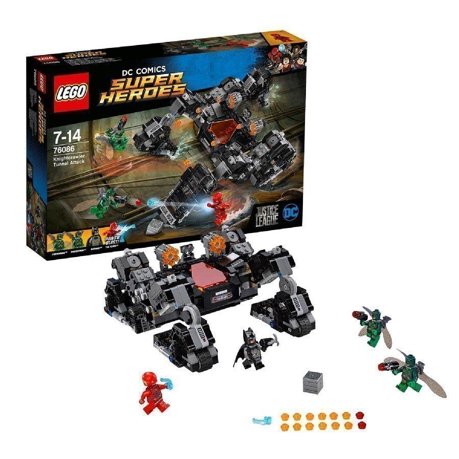 Lego Dc Universe Super Heroes Ritariryömijän Tunnelihyökkäys 76086