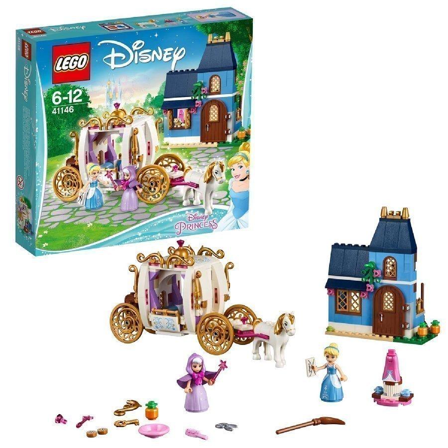 Lego Disney Princess Tuhkimon Lumottu Ilta 41146