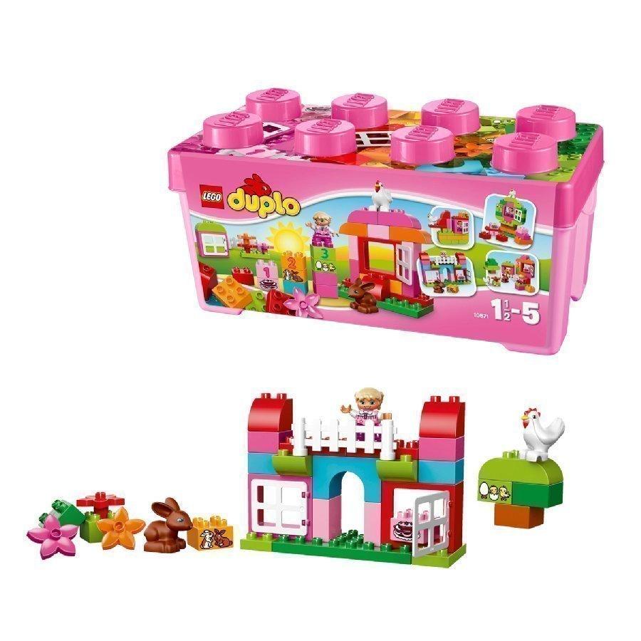 Lego Duplo All In One Pinkki Leikkilaatikko Tyttö 10571