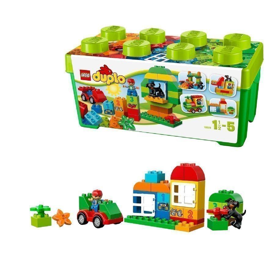 Lego Duplo All In One Vihreä Leikkilaatikko Poika 10572