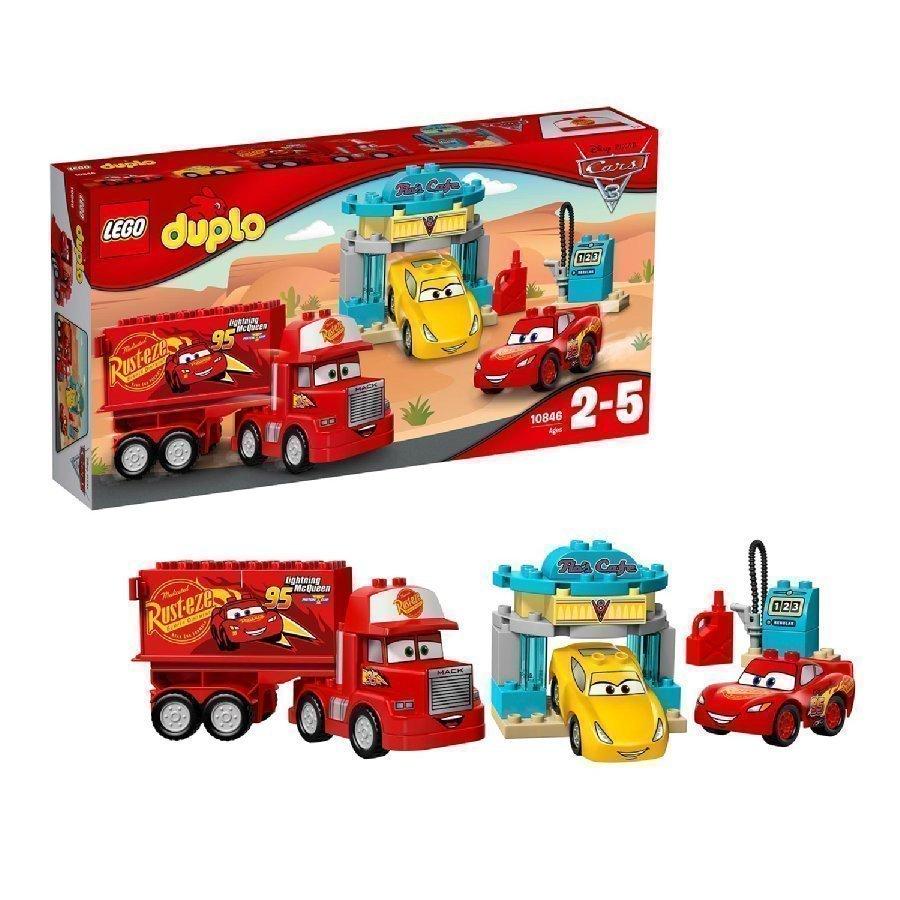 Lego Duplo Cars Flooran Kahvila 10846