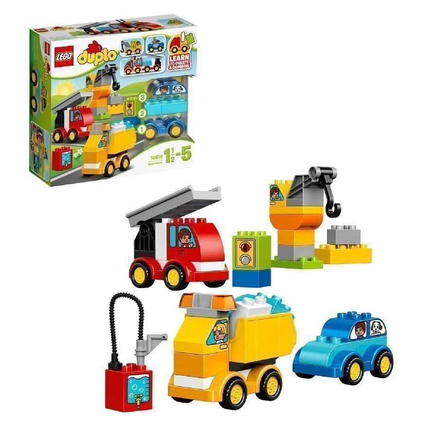 Lego Duplo Ensimmäiset Ajoneuvoni 10816