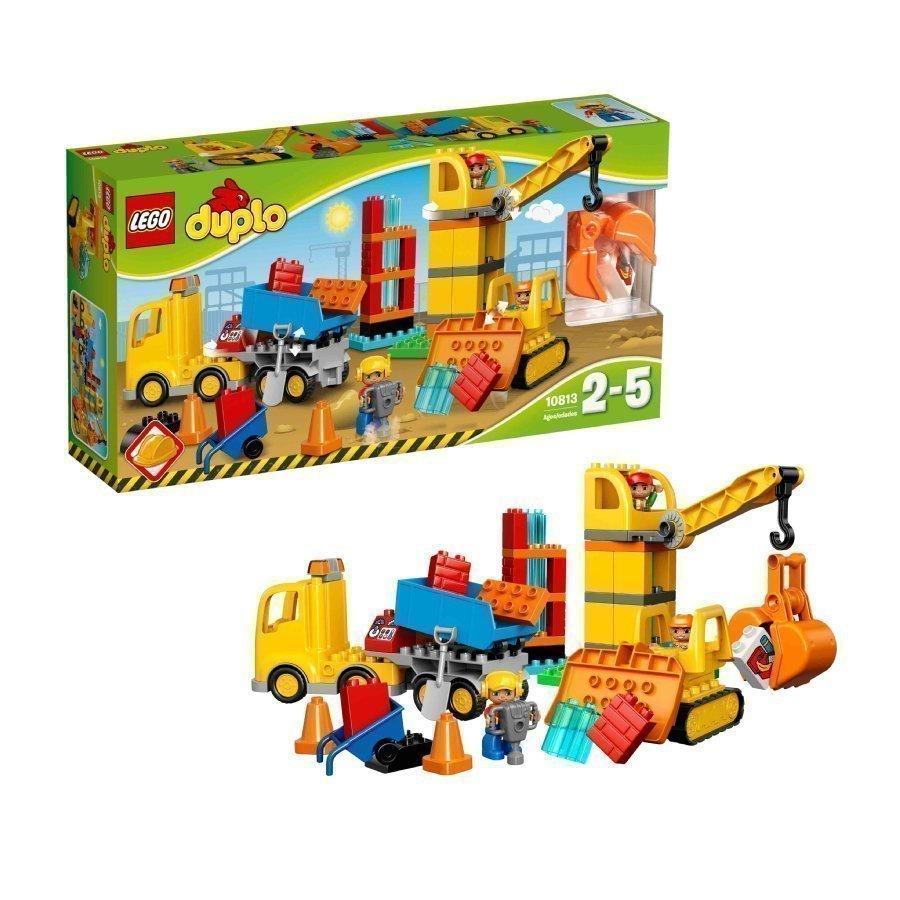 Lego Duplo Iso Rakennustyömaa 10813