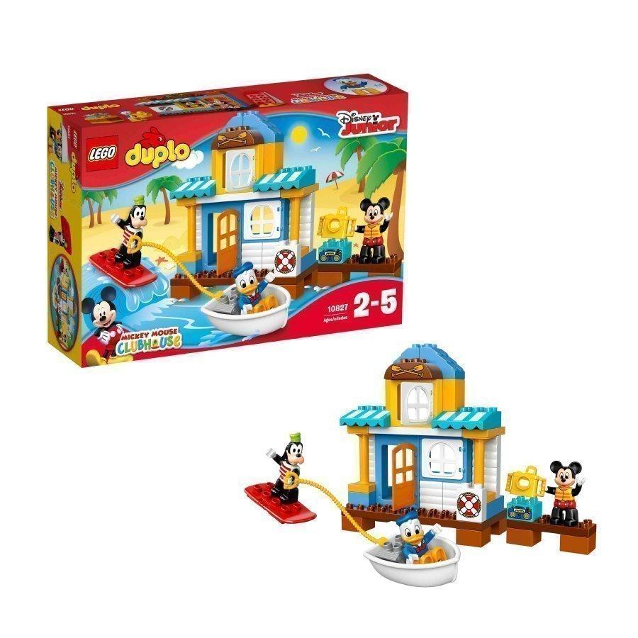 Lego Duplo Mikin Ja Kumppaneiden Rantatalo 10827