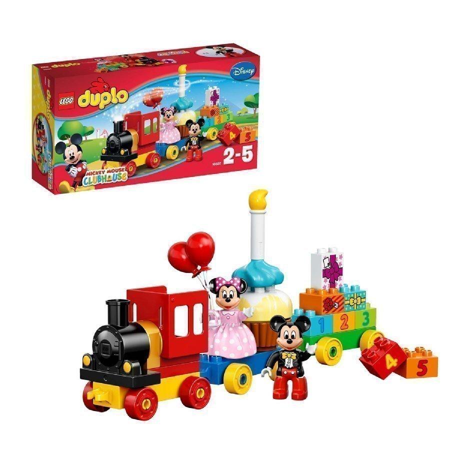 Lego Duplo Mikin Ja Minnin Syntymäpäiväparaati 10597