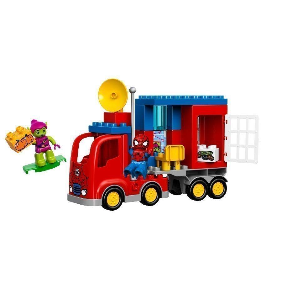 Lego Duplo Spiderman Spider Man Ja Seikkailu Hämähäkkikuorma Autolla 10608