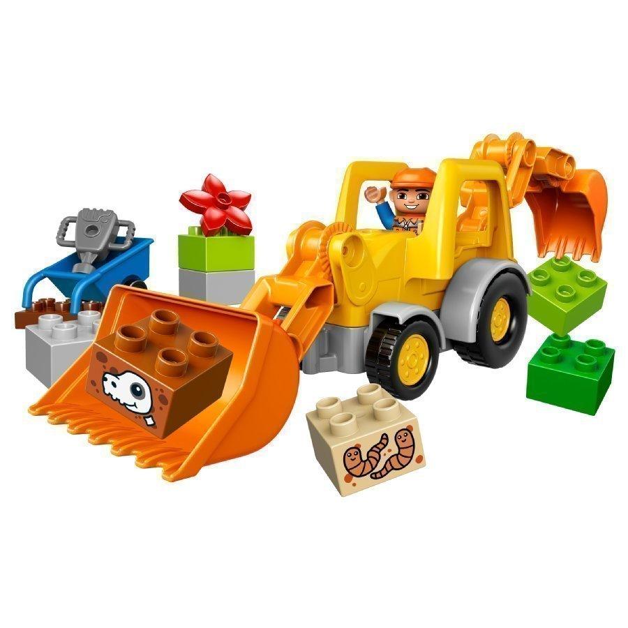 Lego Duplo Traktorikaivuri 10811