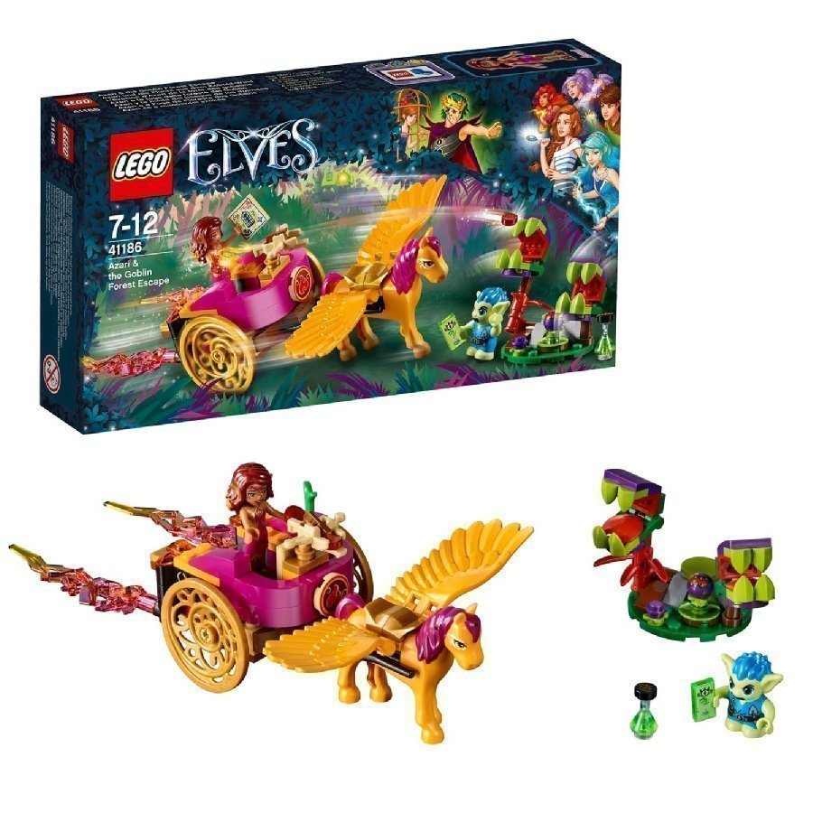 Lego Elves Azari Ja Pako Peikkometsästä 41186