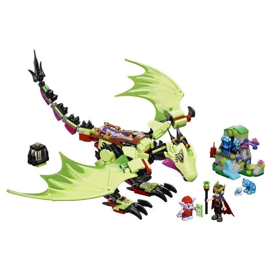 Lego Elves Menninkäiskuninkaan Ilkeä Lohikäärme 41183
