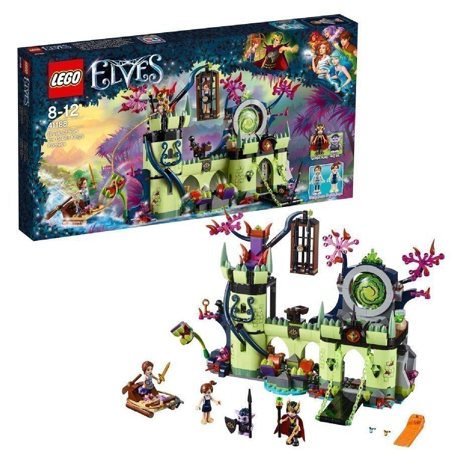 Lego Elves Pako Peikkokuninkaan Linnakkeesta 41188